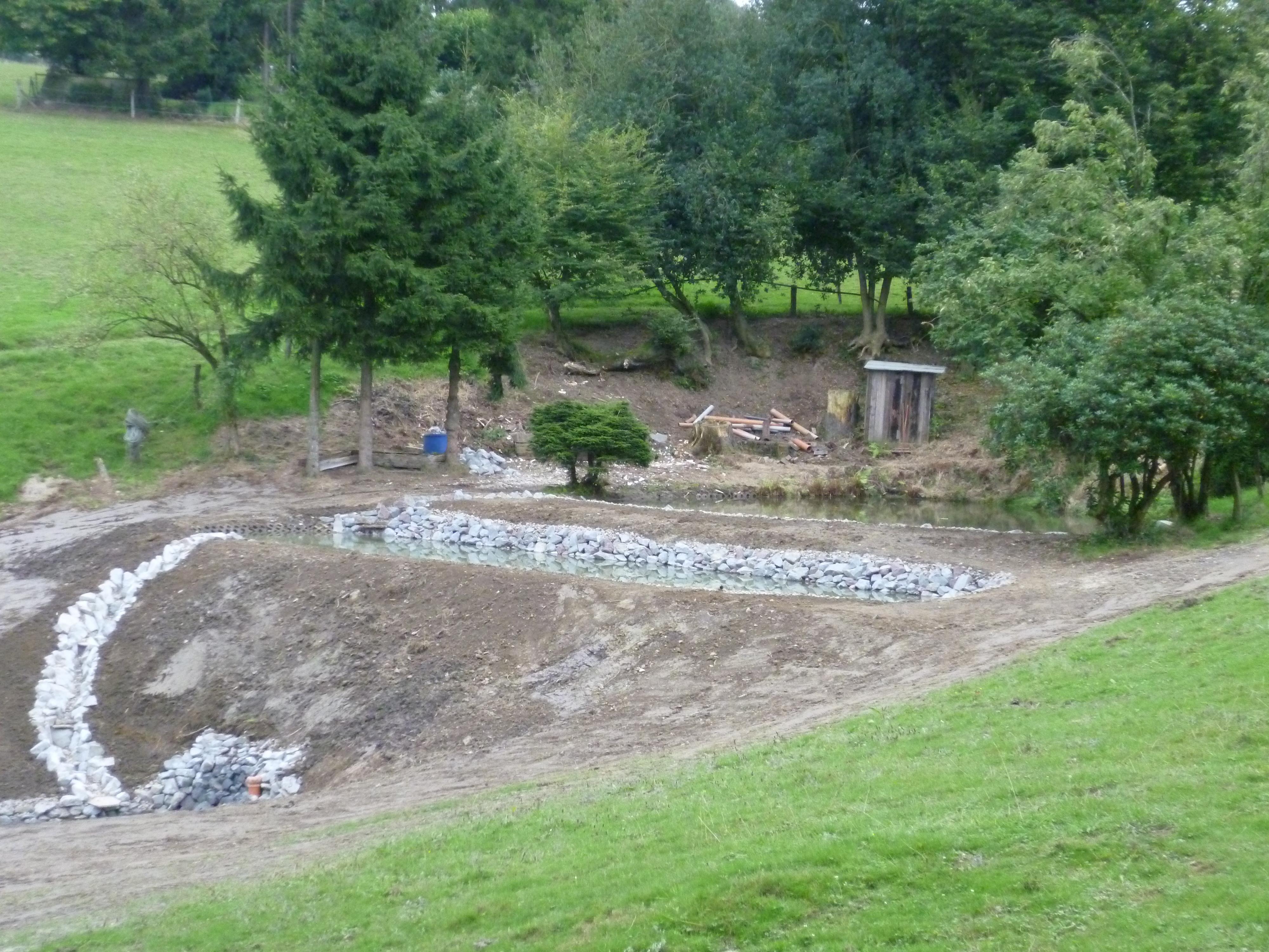 Teichanlage