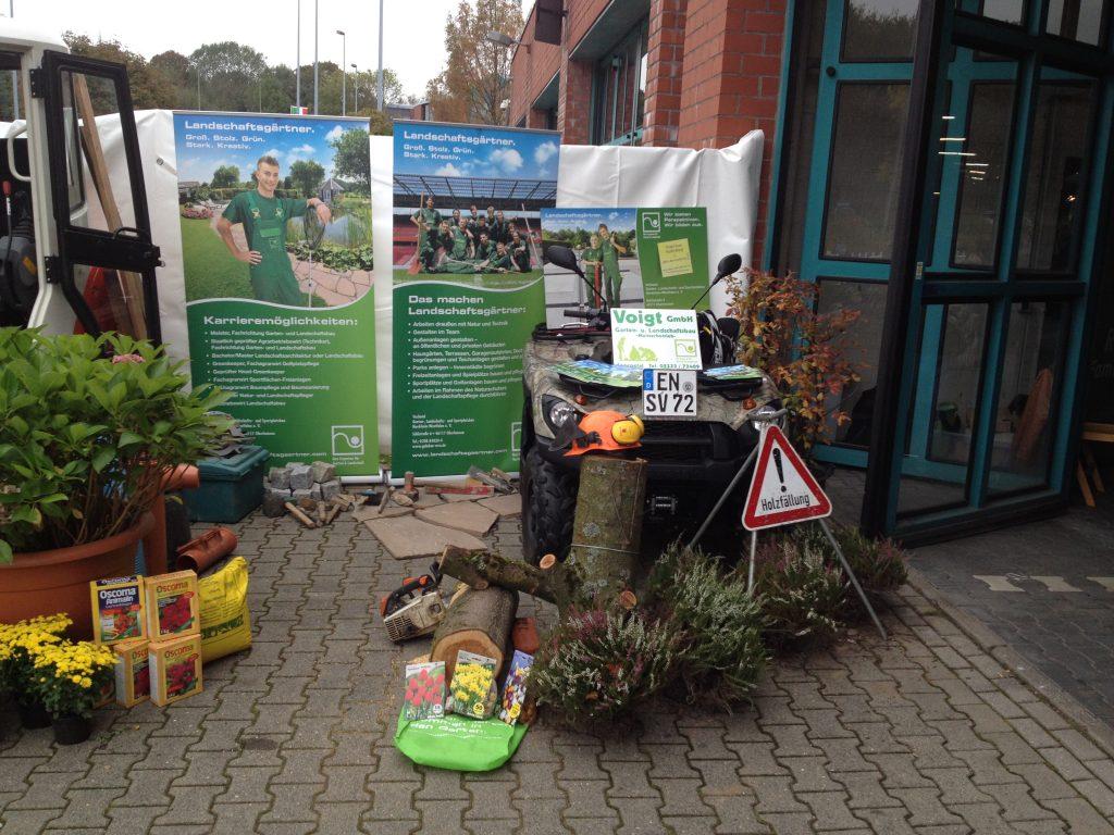 Ausbildungsmesse Garten- und Landschaftsbauer