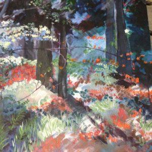 Gartenplanung Gemälde