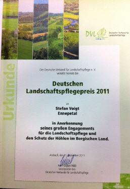 Landschaftspflegepreis 2011