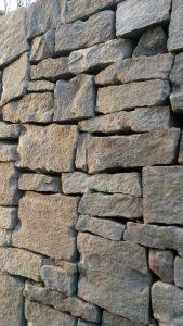 Sandsteinmauer Trockenmauer