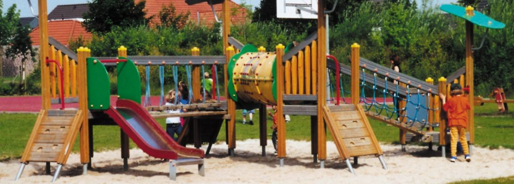 Spielplatz Sprtplatz Galabau